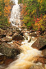 NH CONWAY WHITE MOUNTAINS APP TRAIL ARETHUSA FALLS OCTJH_MG_3327SSW