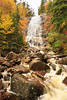 NH CONWAY WHITE MOUNTAINS APP TRAIL ARETHUSA FALLS OCTJH_MG_3394SSW