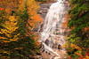 NH CONWAY WHITE MOUNTAINS APP TRAIL ARETHUSA FALLS OCTJH_MG_9134SSW
