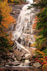 NH CONWAY WHITE MOUNTAINS APP TRAIL ARETHUSA FALLS OCTJH_MG_9122SSW