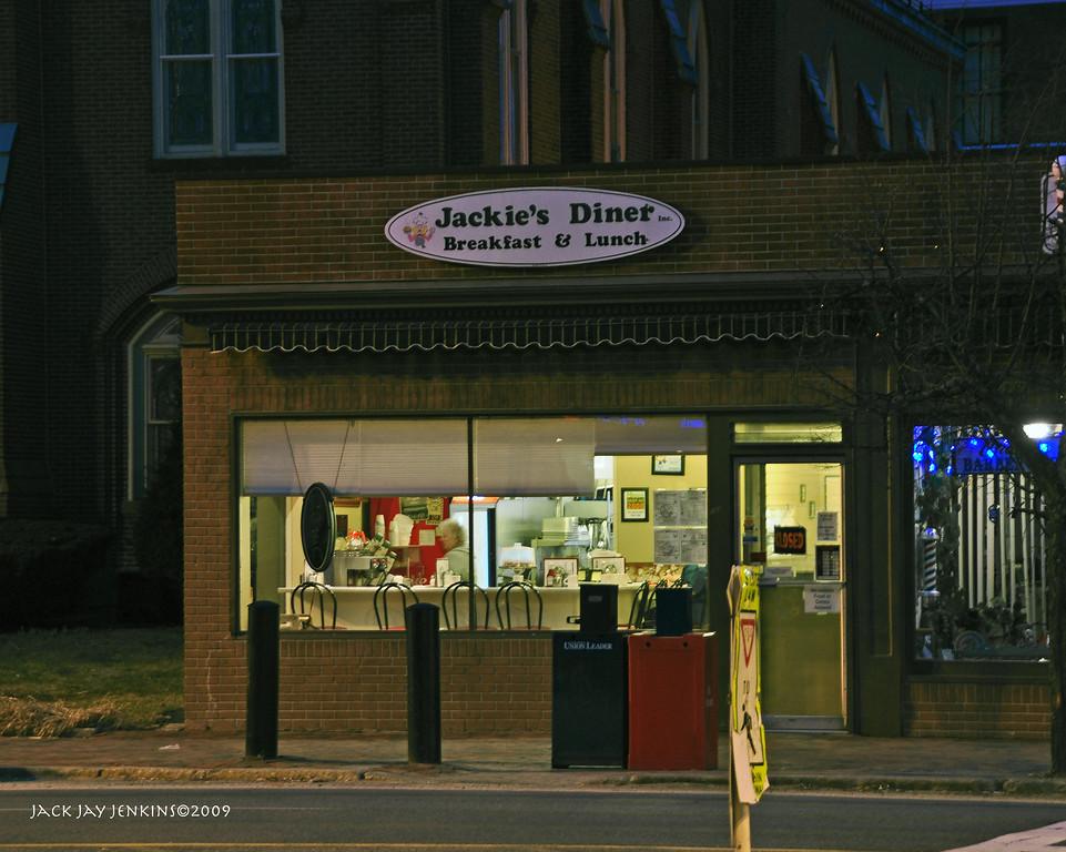 Jackie's Diner, Main Street, Nashua
