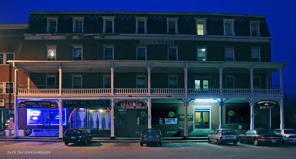 Laton Hotel, Railroad Square, Nashua