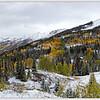Red Mountain Pass Panorama, Colorado