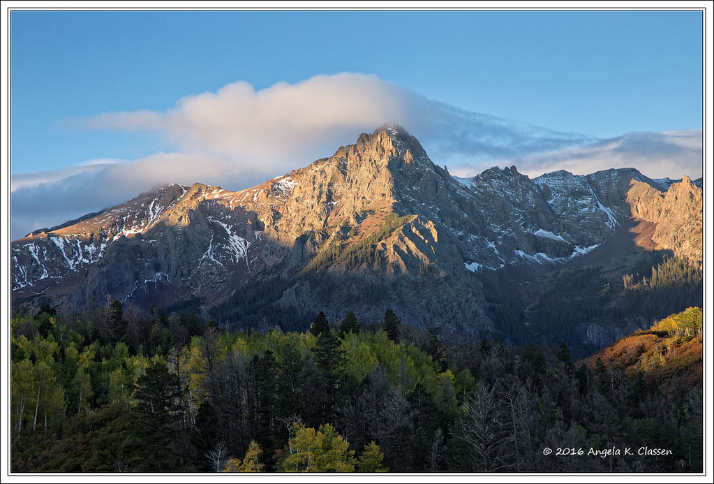 Sunrise, Dallas Divide, between Ridgway and Telluride, Colorado