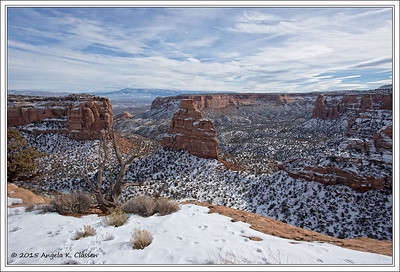 View from Otto's Trail, Colorado National Monument, Grand Junction, Colorado