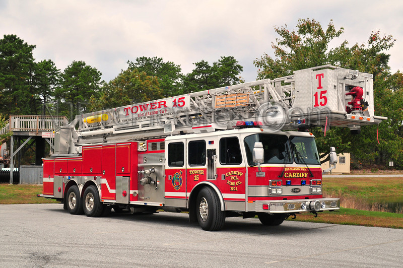 EGG HARBOR TWP, NJ TRUCK 15 - CARDIFF FIRE CO.