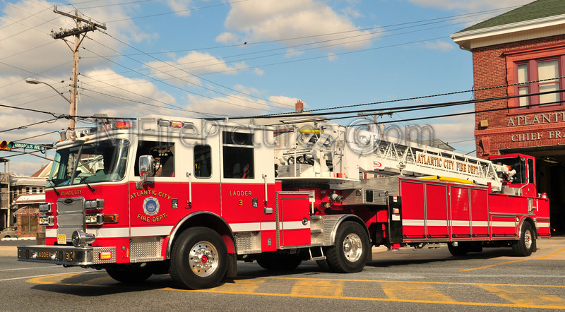 ATLANTIC CITY, NJ LADDER 3