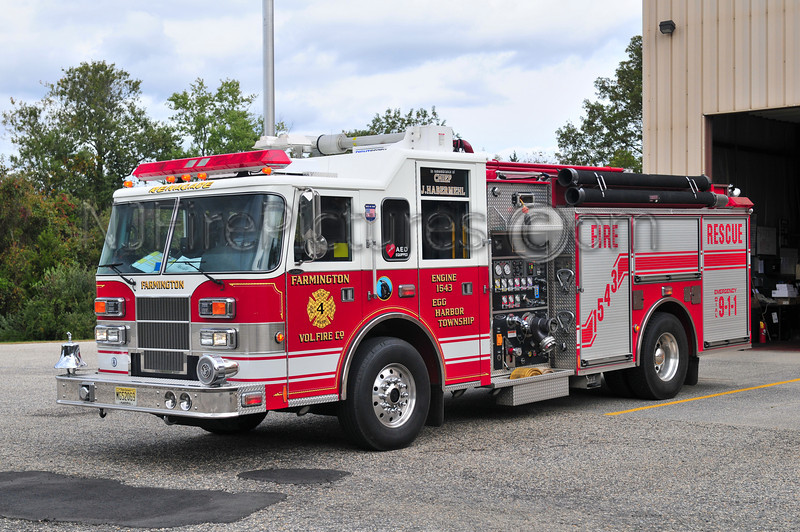 EGG HARBOR TWP, NJ F-1543 FARMINGTON FIRE CO.