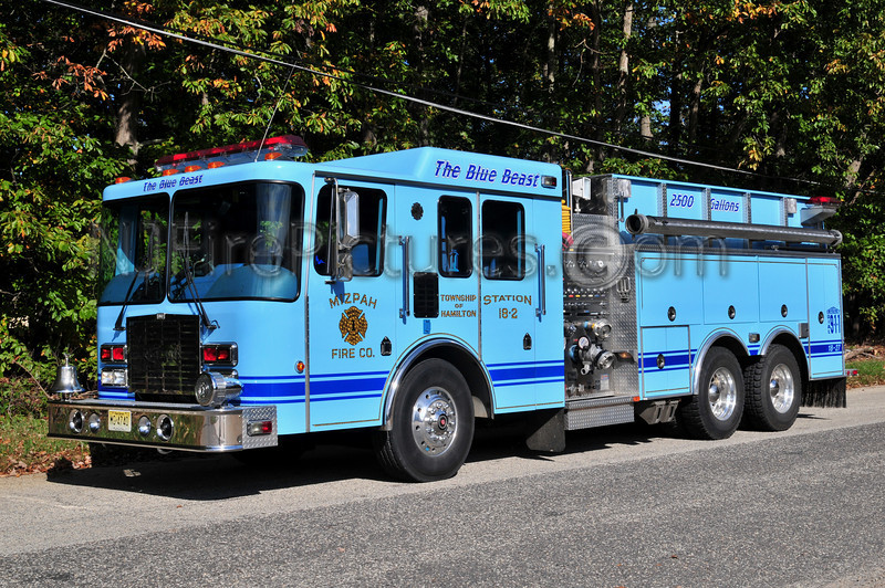 HAMILTON TWP, NJ (MIZPAH FIRE CO) TANKER 1827
