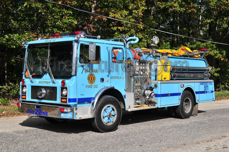HAMILTON TWP, NJ (MIZPAH FIRE CO.) ENGINE 1822
