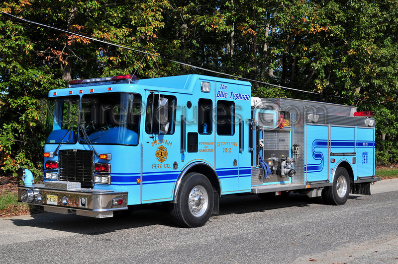 HAMILTON TWP, NJ (MIZPAH FIRE CO) ENGINE 1823