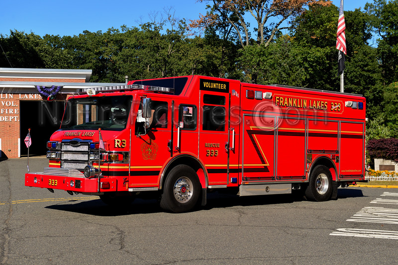 FRANKLIN LAKES, NJ RESCUE 333