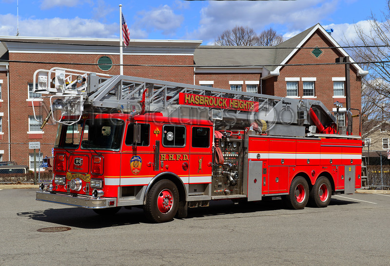HASBROUCK HEIGHTS, NJ TRUCK 617