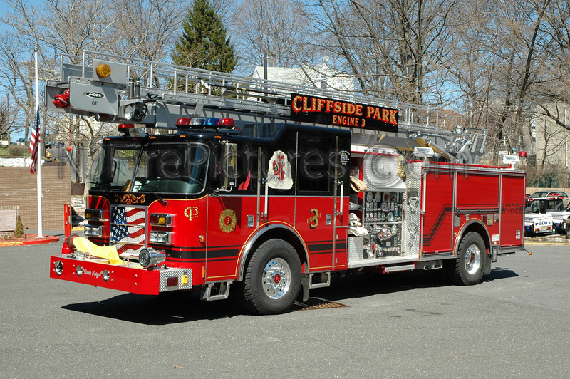 CLIFFSIDE PARK, NJ ENGINE 3