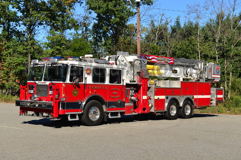 WYCKOFF, NJ TOWER LADDER 241