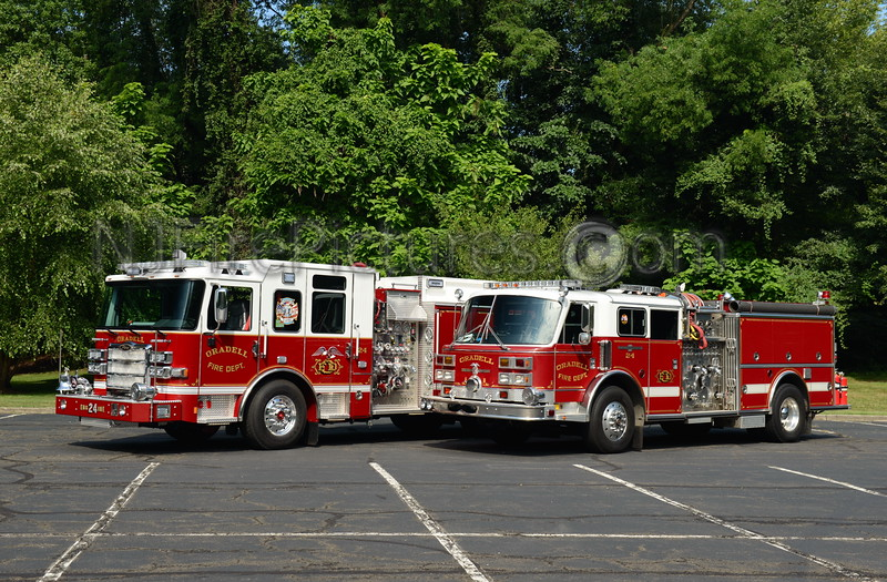 ORADELL, NJ ENGINE 24 OLD AND NEW