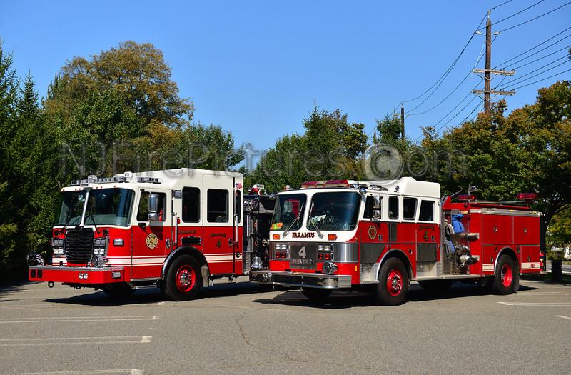 PARAMUS ENGINE 4 OLD & NEW