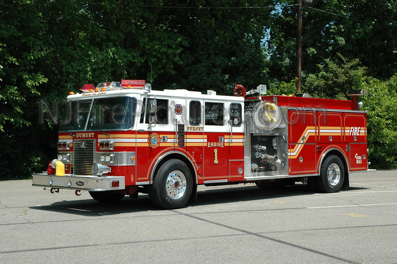 Dumont - Engine 1 - 1990 Pierce Lance 1250/750 Ex.South Hempstead, L.I.N.Y.