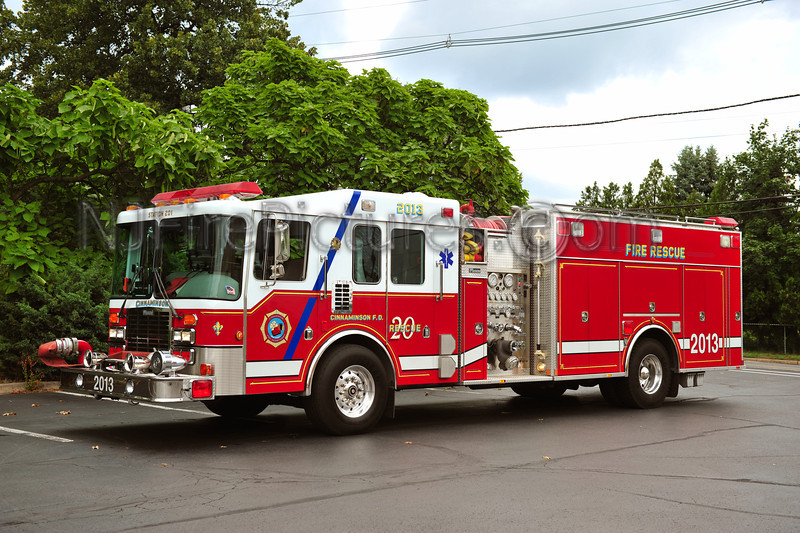 CINNAMINSON, NJ RESCUE 2013 - 1994 HME/MARION 1500/750