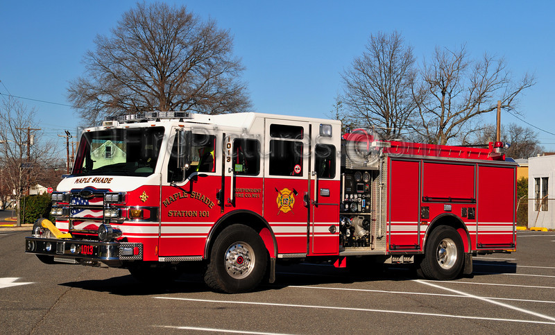 MAPLE SHADE ENGINE 1013 - 2009 PIERCE VELOCITY 1500/750