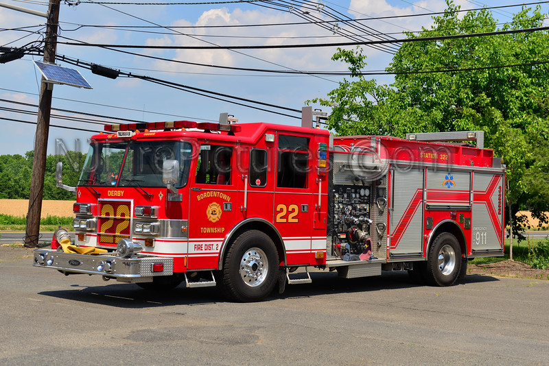 BORDENTOWN TOWNSHIP, NJ ENGINE 3222 DERBY FIRE CO.