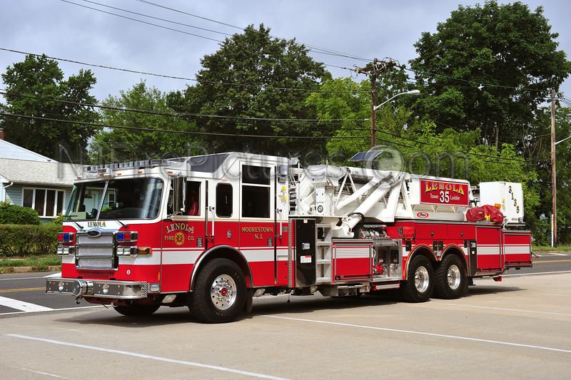 MOORESTOWN, NJ (LENOLA FIRE CO.) TOWER 3135 - 2007 PIERCE DASH 2000 GPM/95'