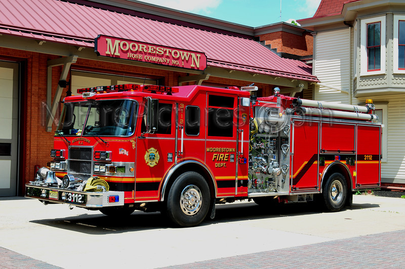 MOORESTOWN ENGINE 3112 - 2004 PIERCE DASH 1500/750