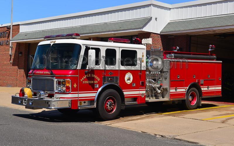 MAPLE SHADE, NJ ENGINE 1012