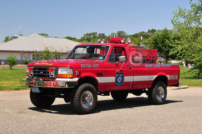 Mount Laurel Brush 3616 - 1992 Ford F350 500/250