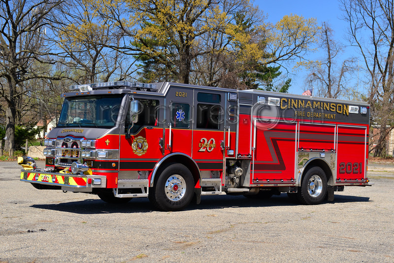 CINNAMINSON, NJ ENGINE 2021
