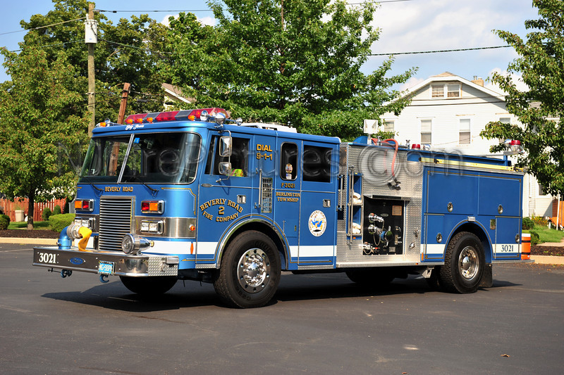 BURLINGTON TWP (BEVERLY ROAD FIRE CO.) ENGINE 3021
