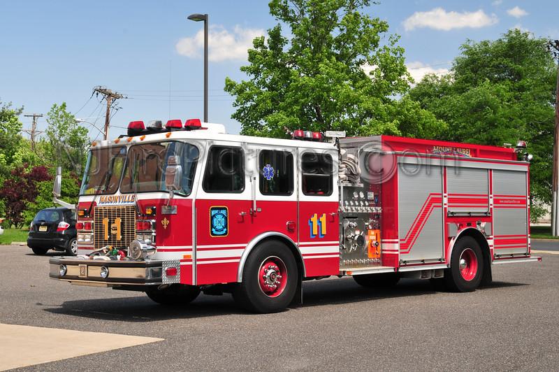 Mount Laurel Engine 11 - 2001 Emergency One 2000/900