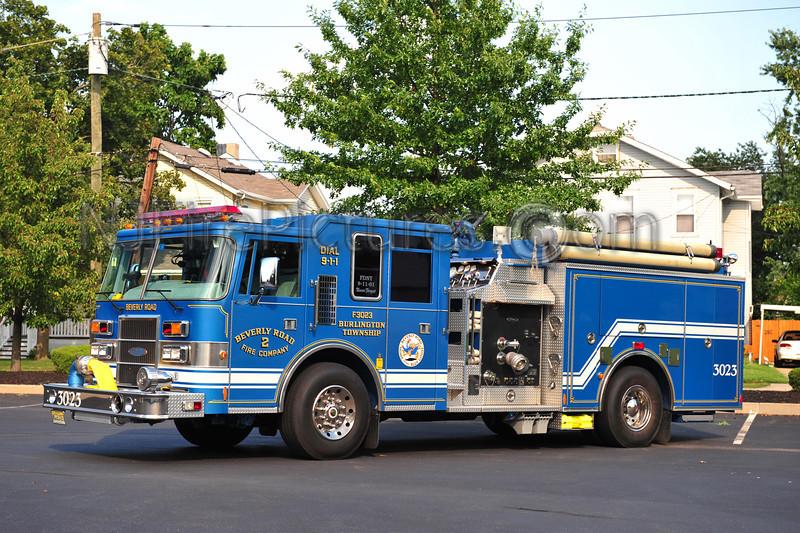 BURLINGTON TWP (BEVERLY ROAD FIRE CO.) ENGINE 3023