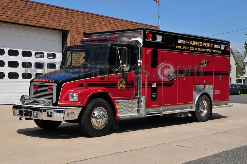 Hainesport Rescue 3919 - 1997 Freightliner/EVI