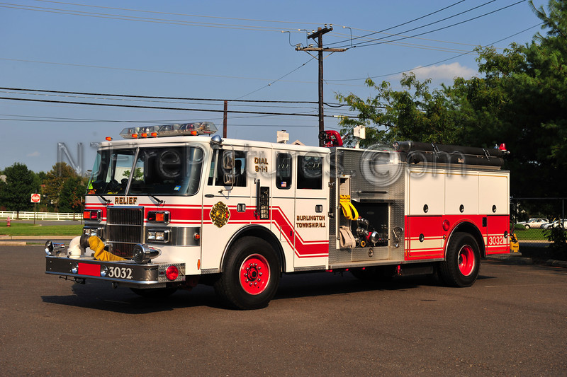 BURLINGTON TWP (RELIEF FIRE CO.) ENGINE 3032