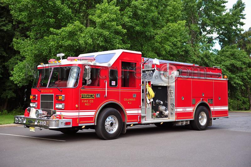 COLUMBUS, NJ (FRANKLIN FIRE CO.) ENGINE 3312