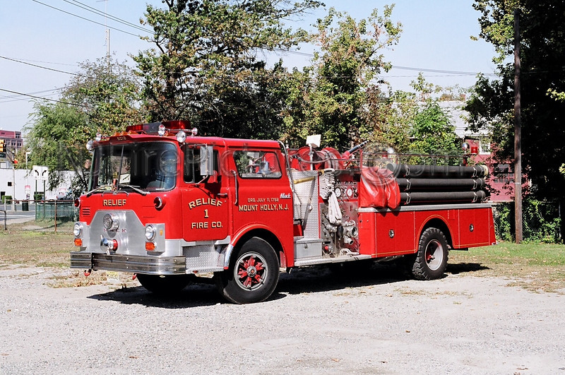 MOUNT HOLLY ENGINE 5012 - 1981 MACK CF 1250/500