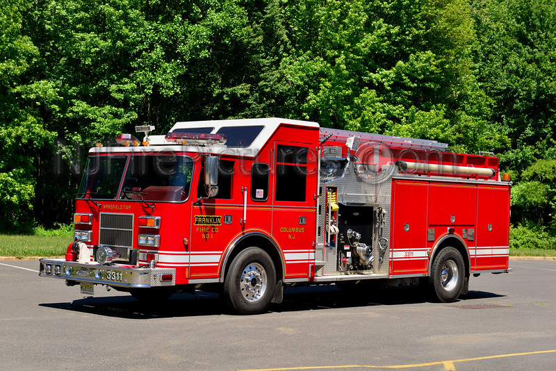 MANSFIELD TWP, NJ FRANKLIN FIRE CO. ENGINE 3311