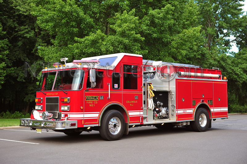 COLUMBUS, NJ (FRANKLIN FIRE CO.) ENGINE 3311