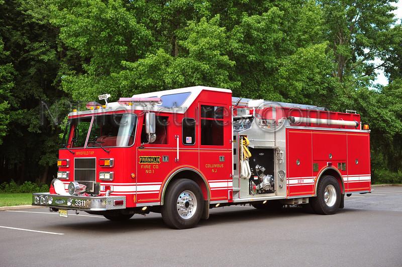 COLUMBUS, NJ (FRANKLIN FIRE CO.) ENGINE 3311