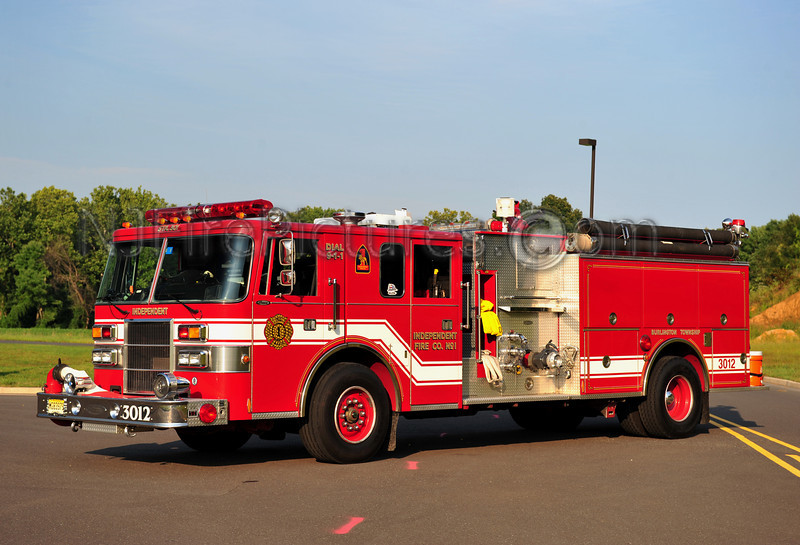 BURLINGTON TWP (INDEPENDENT FIRE CO.) ENGINE 3012