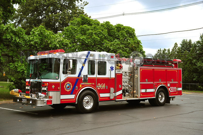 CINNAMINSON, NJ ENGINE 2011 - 1994 HME/MARION 1500/750/100
