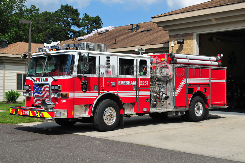 EVESHAM ENGINE 2251 - 2010 PIERCE ARROW XT 1500/750
