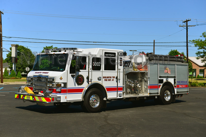 BURLINGTON TOWNSHIP, NJ ENGINE 3032 RELIEF FIRE CO.