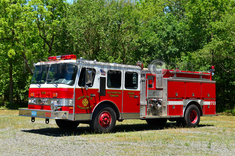 SOUTHAMPTON TWP, NJ VINCENTOWN ENGINE 1713