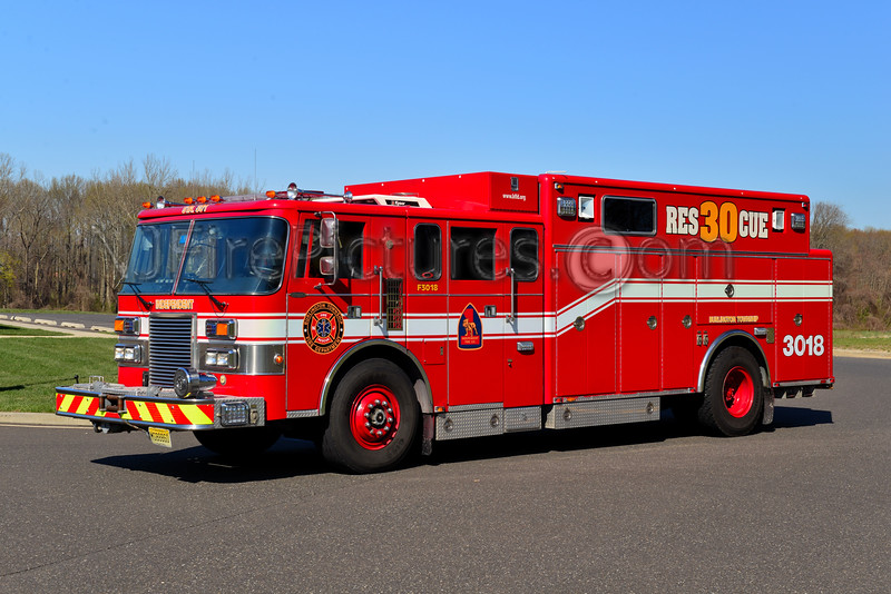 BURLINGTON TOWNSHIP, NJ RESCUE 3018