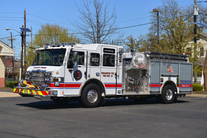 BURLINGTON TOWNSHIP, NJ ENGINE 3022