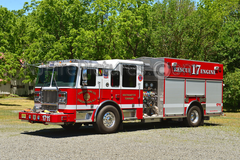 SOUTHAMPTON TWP, NJ VINCENTOWN ENGINE 1711