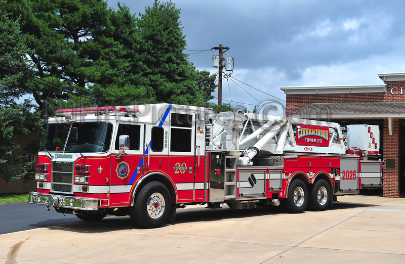 CINNAMINSON, NJ TOWER 2025 - 2005 PIERCE DASH 95'