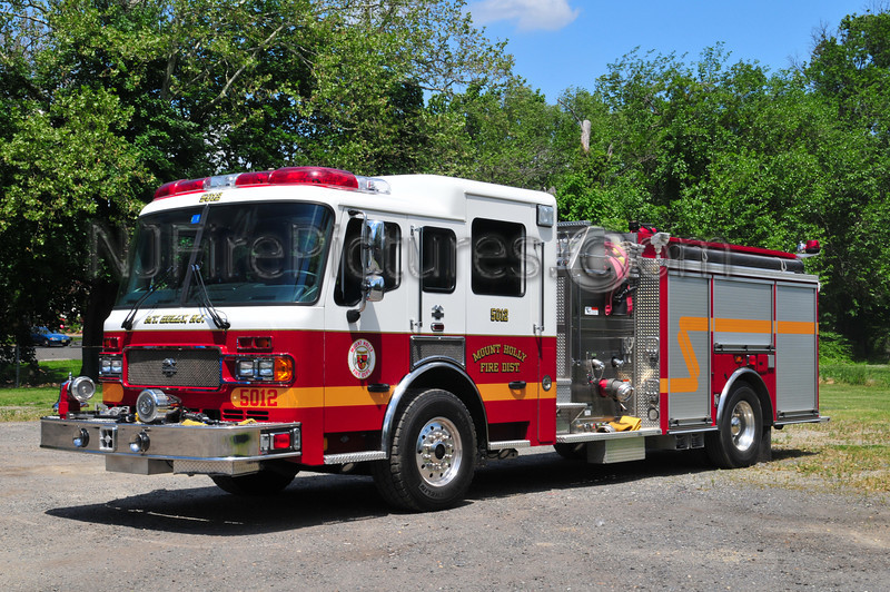 Mount Holly Engine 5012 - 2005 American LaFrance 1500/1000